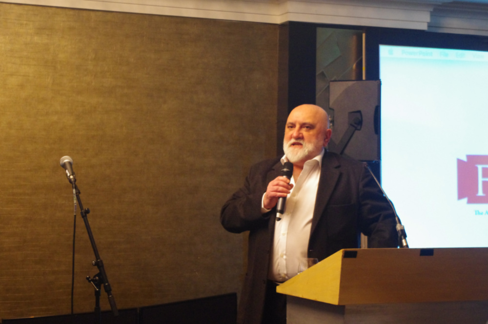 Alexei Sayle at the annual fundraising dinner 2017