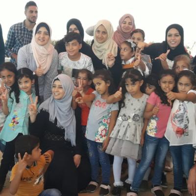 Hadeel and students