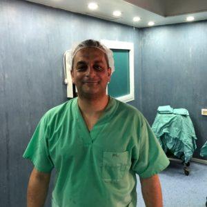 Eyad in hospital