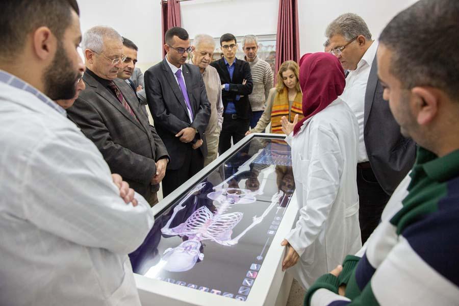 Anatomage table demonstration
