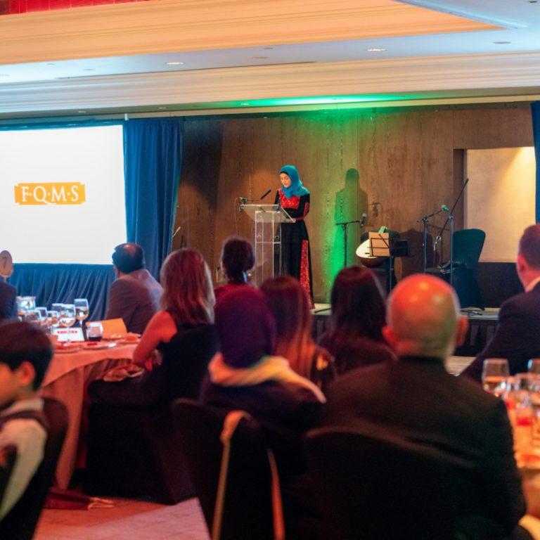 Laila el-Haddad speaking