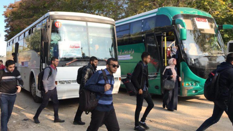 Gaza bus